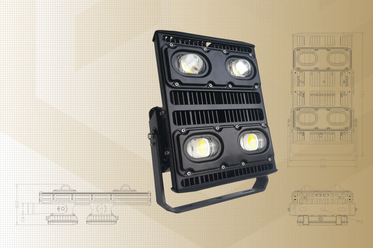 Mining LED flood lights